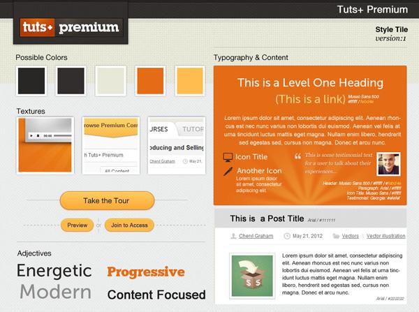 Фото - Style Tiles: альтернатива полному макету сайта для веб дизайнера